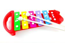 Free Toy Colorful Xylophone Royalty Free Stock Image - 20406466