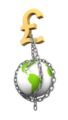 Free Chaining The World With Money Stock Image - 20406981