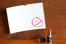 Friendly Message Royalty Free Stock Photos