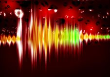 Free Equalizer Sound Waves Royalty Free Stock Photos - 20407448