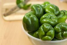 Free Green Fresh Peppers Royalty Free Stock Photo - 20407495