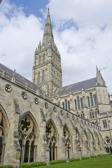 Free Salisbury Cathedral Royalty Free Stock Photos - 20408578