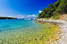 Free Croatian Beach Stock Image - 20408731