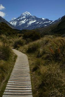 Free Mount Cook, New Zealand Royalty Free Stock Photography - 20408937