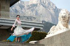 Free Woman In Dress Stock Image - 20409071