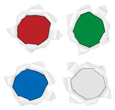 Free Ripped Circle Stock Image - 20409541