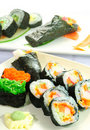Free Closeup Japanese Sushi. Series Japanese Food Stock Photo - 20411060