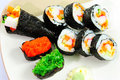 Free Closeup Japanese Sushi. Series Japanese Food Royalty Free Stock Photos - 20411118