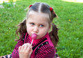 Free Little Girl With Candy Stock Photo - 20413040