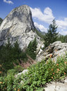 Free Yosemite Peak And Nevada Falls Royalty Free Stock Photography - 20414937
