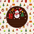 Free Cute Christmas Card Stock Photography - 20416332