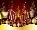 Free Christmas Card Frame Gift Background  Illustration Stock Photos - 20417243