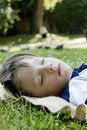 Free Sleeping Boy Royalty Free Stock Images - 20417899