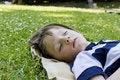Free Sleeping Boy Stock Photo - 20417910