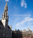 Free Middle Of Square Grand Place, Brussels, Belgium Royalty Free Stock Photo - 20418755