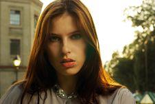 Free Portrait Of A Beautiful Woman Stock Image - 20410351