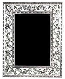 Free Silver Frame Stock Photo - 20411110