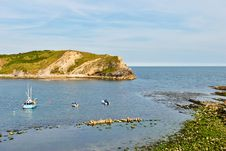 Free Lulworth Cove. Royalty Free Stock Images - 20411609
