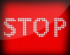 Free Stop Stock Photo - 20411720