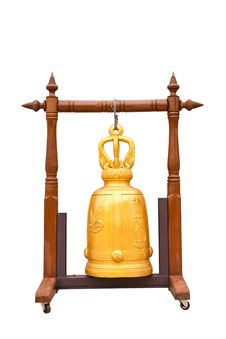 Free A Gold Bell In Thai Temple Stock Photo - 20411920