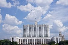 Free Russian House Of Government Stock Image - 20412091