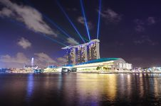 Free Marina Bay Sands, Singapore Stock Photography - 20412242
