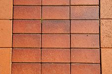 Free Ceramic Bricks Floor Background Royalty Free Stock Photos - 20412838