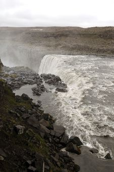 Free Dettifoss Waterfall In Northeast Iceland Stock Image - 20413151