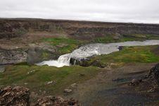 Free Hafragilsfoss Waterfall In Iceland Stock Images - 20413154