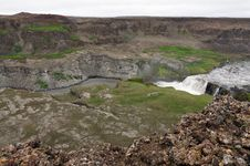 Free Hafragilsfoss Waterfall In Iceland Royalty Free Stock Image - 20413156