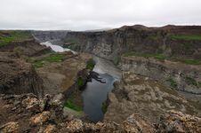 Free Hafragilsfoss Waterfall In Iceland Royalty Free Stock Photography - 20413157