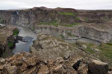 Free Hafragilsfoss Waterfall In Iceland Stock Photo - 20413160