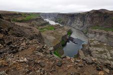 Free Hafragilsfoss Waterfall In Iceland Stock Image - 20413161
