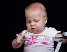 Free Baby Measuring Royalty Free Stock Images - 20413379