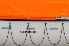 Free Lifeboat Closeup Stock Photography - 20413502