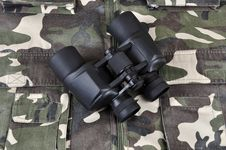 Free Binocular. Royalty Free Stock Photography - 20413857