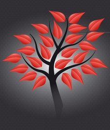 Free Red Tree Stock Image - 20414031