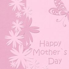 Free Happy Mother S Day Greeting Card Stock Image - 20414221
