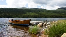 Free Lake In The Mountains Royalty Free Stock Photography - 20414297