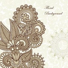 Free Frame Ornate Card Announcement Stock Photo - 20414560