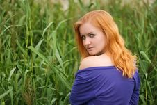 Free Girl In Grass Stock Photos - 20414683