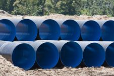 Free Drain Steel Pipes Stock Photo - 20415720