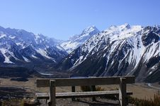 Free Mt Cook Over Seat Stock Photography - 20415802