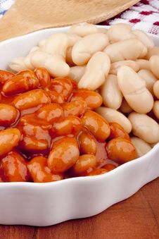 Free Baked Beans Royalty Free Stock Photos - 20415828