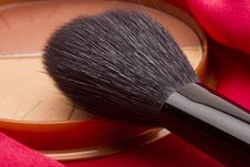 Free Powder Brush Stock Photography - 20415842
