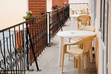 Free Chairs In The Balcony Of Hotel Room Stock Image - 20415851