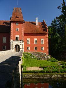 Free Castle Cervena Lhota Royalty Free Stock Photography - 20416087