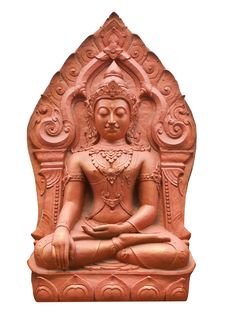 Free Clay Buddha Royalty Free Stock Image - 20416206