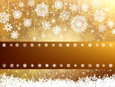 Elegant Christmas Background. EPS 8 Stock Images