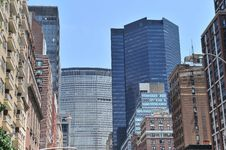 Free Midtown Buildings In New York City Royalty Free Stock Image - 20416516